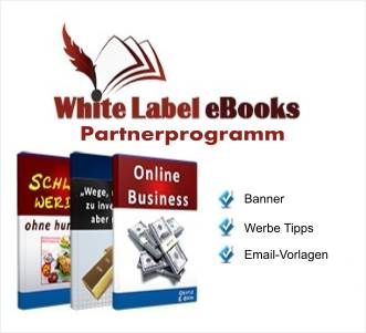 White Label Ebook Partnerprogramm
