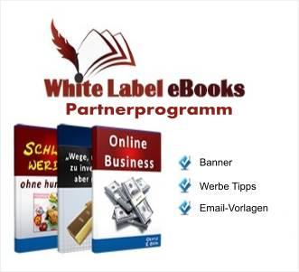 White Label Ebook Partnerprogramm