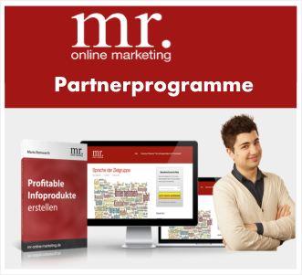 Mr. Online Marketing Partnerprogramm