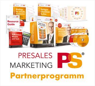PreSales Marketing Partnerprogramm