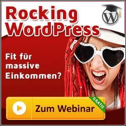 Online Webinar – Rocking WordPress