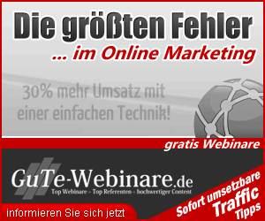Online Webinar – Erfolg 2.0