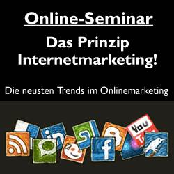 Online Webinar – Prinzip Internet Marketing