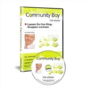 Communityboy - Social Media Marketing mit Xing