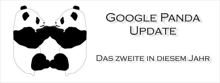 Google Panda Update - Klappe die Zweite