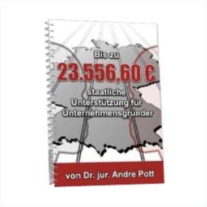 E-Book - 23.556,60 Euro vom Staat für Gründer