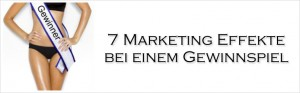 Marketing Effekt Gewinnspiel
