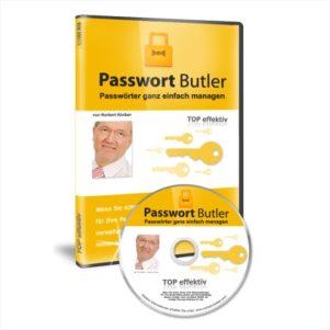 Passwort Butler - Mehr Sicherheit