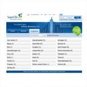 Superclix Affiliate Netzwerk und Partnerprogramm