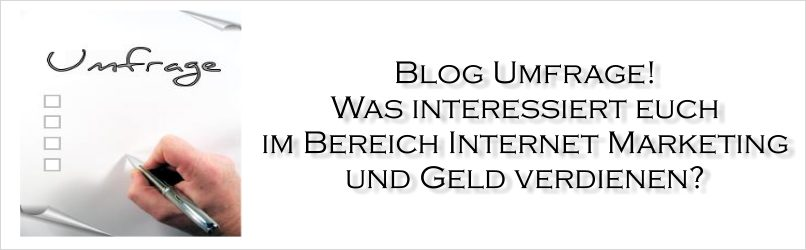 Umfragen Internet Marketing